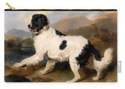 Lion - A Newfoundland Dog Carry-all Pouch