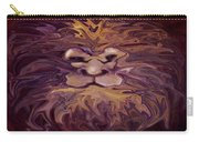 Lion Abstract Carry-all Pouch