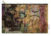 Lion And Lamb Collage Carry-all Pouch