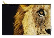 Lion Art - Face Off Carry-all Pouch