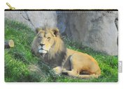 Lion At Leisure Carry-all Pouch