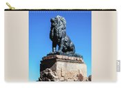 Lion At San Xavier Mission - Tucson Arizona Carry-all Pouch