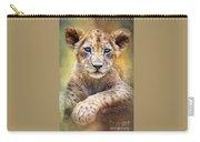 Lion Cub Carry-all Pouch