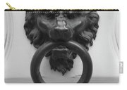 Lion Door Knocker In Brussels Carry-all Pouch