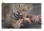 Lion Eating Carry-all Pouch