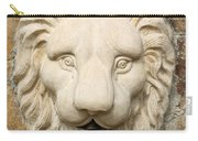 Lion Head Fountain Carry-all Pouch