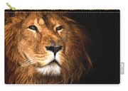 Lion Head Oil Painting Carry-all Pouch