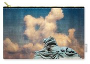 Lion In The Clouds Carry-all Pouch