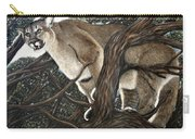 Lion In The Tree Carry-all Pouch