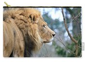 Lion In Thought Carry-all Pouch