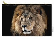 Lion King Of The Jungle 2 Carry-all Pouch by James Sage