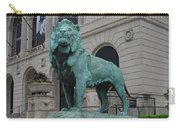Lion Looking Out Carry-all Pouch