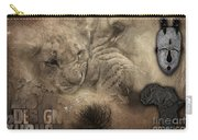 Lion Love Big And Small Carry-all Pouch