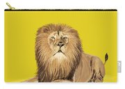 Lion Painting Carry-all Pouch