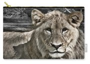 Lion Portrait Carry-all Pouch