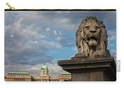 Lion Sculpture In Budapest Carry-all Pouch