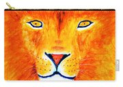 Lion Selfie Color Pop Carry-all Pouch