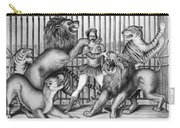 Lion Tamer, 1873 Carry-all Pouch