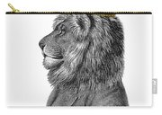 Lion The King Of The Jungle Carry-all Pouch