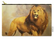 Lion  Carry-all Pouch by William Huggins