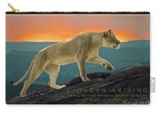 Lioness Arising Carry-all Pouch