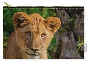Lioness Cub Carry-all Pouch
