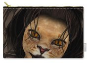 Lioness Carry-all Pouch by Jutta Maria Pusl