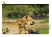 Lioness Pose Carry-all Pouch