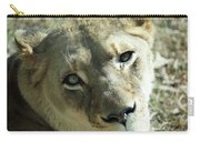 Lioness Up Close Carry-all Pouch