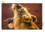 Lioness Yawn Carry-all Pouch