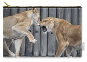 Lioness's Playing 1 Carry-all Pouch