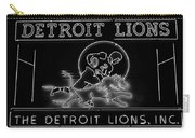 Lions Football Carry-all Pouch