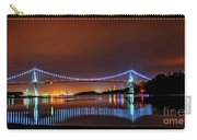 Lions Gate Bridge At Night 2 Carry-all Pouch