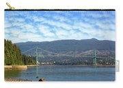 Lions Gate Bridge By Stanley Park Carry-all Pouch
