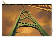 Lions Gate Bridge Tower Carry-all Pouch