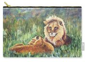 Lions Resting Carry-all Pouch