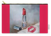 Lipstick Kiss Carry-all Pouch