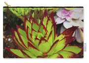 Lipstick Or Echeveria Agavoides At Balboa Park Carry-all Pouch
