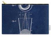 Liquershot Glass Patent 1925 Blue Carry-all Pouch