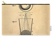 Liquershot Glass Patent 1925 Sepia Carry-all Pouch
