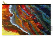 Liquid Abstract Fifteen Carry-all Pouch