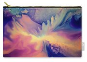 Liquid Abstract Nebula Carry-all Pouch