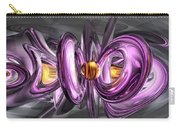 Liquid Amethyst Abstract Carry-all Pouch