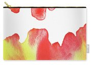 Liquid Fire Watercolor Abstract II Carry-all Pouch