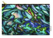Liquid Geometric Abstract Carry-all Pouch