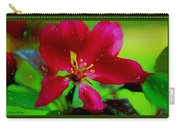 Liquid Line Flower Painting Carry-all Pouch