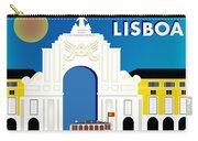 Lisboa Lisbon Portugal Horizontal Scene Carry-all Pouch
