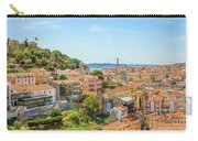 Lisbon Aerial View Carry-all Pouch