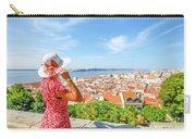 Lisbon Castle Woman Carry-all Pouch