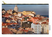 Lisbon Cityscape In Portugal At Sunset Carry-all Pouch